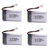 syma X5C X5C 1 X5 X5SC X5SW M68 K60 HQ 905 CX30 batteria 650mah 4 pezzi