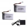 syma X5C X5C 1 X5 X5SC X5SW M68 K60 HQ 905 CX30 batterie battery 650mah charger 2pcs