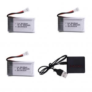 syma X5C X5C 1 X5 X5SC X5SW M68 K60 HQ 905 CX30 batterie battery 650mah charger 3pcs