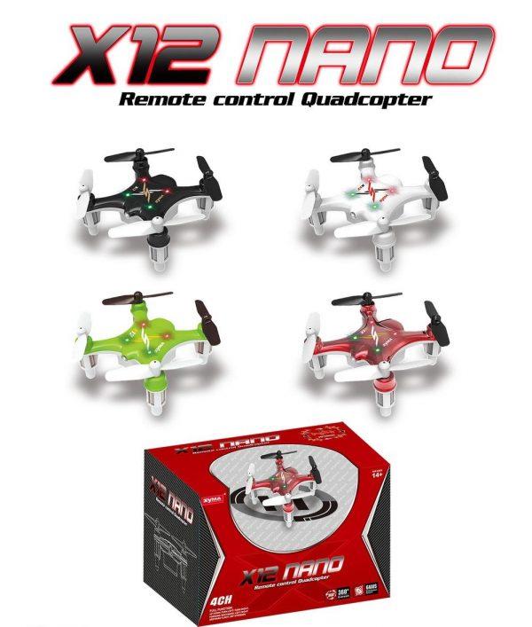 syma x12 nano explorers 2 4g 4ch 6 assi rc quadcopter rtf speedysend 1412 16 speedysend @ 1