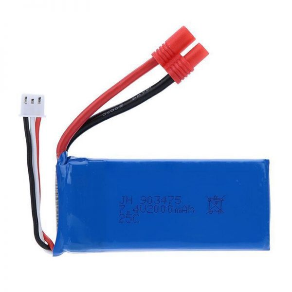 syma x8c x8w x8g battery batterie 2000mah
