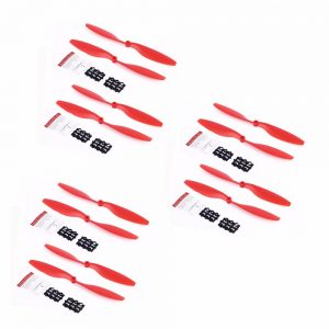 12 Helices 10x4.5 1045 1045R pour DJI F450 F550 Moteur A2212 kv1000 ROUGE