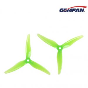24 Propellers 3 Blades CW Clockwise CCW Counter Clockwise Gemfan 51466 5 Inches GREEN