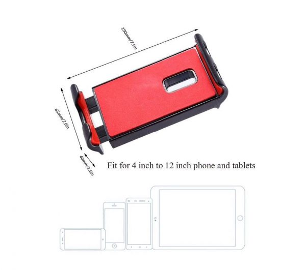 Support Rotatif Mobile Tablette de 4 12 Pouces pour Telecommande DJI Mavic Mini Spark Air 2 Pro Zoom XIAOMI FIMI X8 SE 3