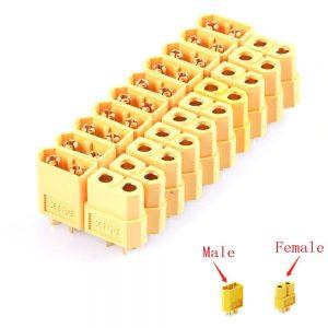 connecteurs Male Femelle XT60 pour Batteries LiPo 2