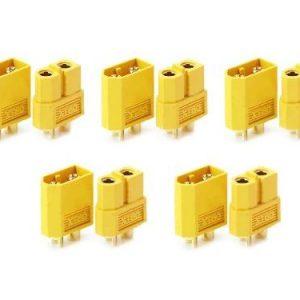 Connettori XT60 maschio femmina per batterie LiPo 4