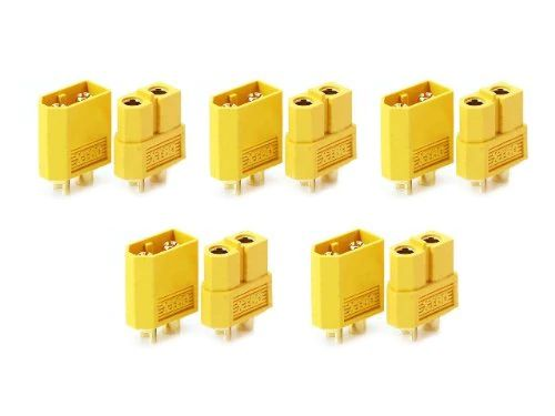 connecteurs Male Femelle XT60 pour Batteries LiPo 4