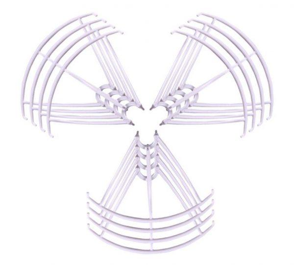 12 Cadres de Protection Helices 3 Sets pour Syma X5 X5C X5C 1 X5SC X5SW BLANC