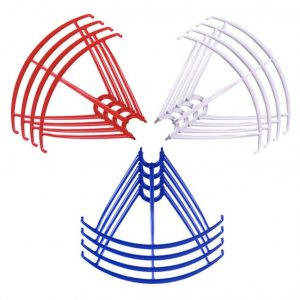 12 Propeller Protective Frames 3 Sets for Syma X5 X5C X5C 1 X5SC X5SW BLUE WHITE RED