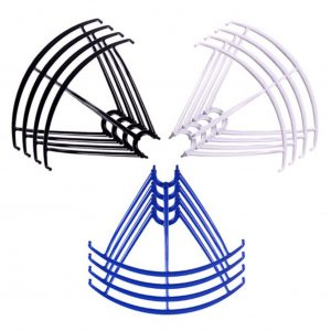 12 Propeller Protective Frames 3 Sets for Syma X5 X5C X5C 1 X5SC X5SW BLACK WHITE BLUE