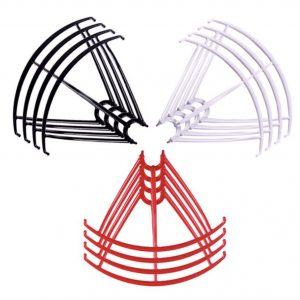 12 Propeller Protective Frames 3 Sets for Syma X5 X5C X5C 1 X5SC X5SW BLACK WHITE RED