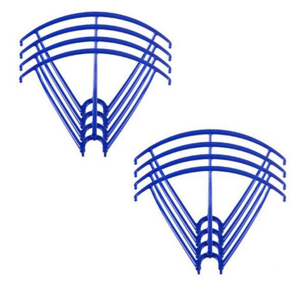 8 Cadres de Protection Helices 2 Sets pour Syma X5 X5C X5C 1 X5SC X5SW BLEU