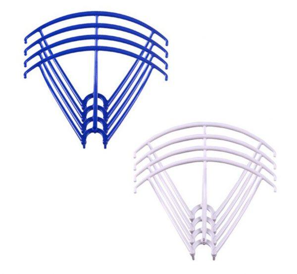 8 Cadres de Protection Helices 2 Sets pour Syma X5 X5C X5C 1 X5SC X5SW BLEU BLANC