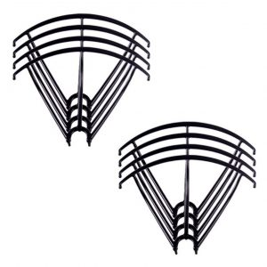 8 Propeller Protection Frames 2 Sets for Syma X5 X5C X5C 1 X5SC X5SW BLACK