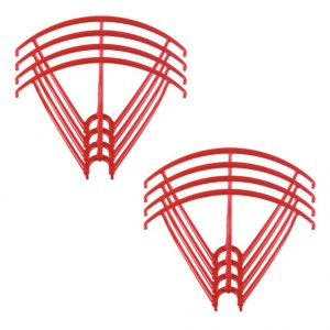 8 Propeller Protective Frames 2 Sets for Syma X5 X5C X5C 1 X5SC X5SW RED