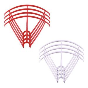 8 Propeller Protective Frames 2 Sets for Syma X5 X5C X5C 1 X5SC X5SW RED WHITE