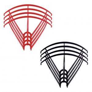 8 Propeller Protection Frames 2 Sets for Syma X5 X5C X5C 1 X5SC X5SW RED BLACK