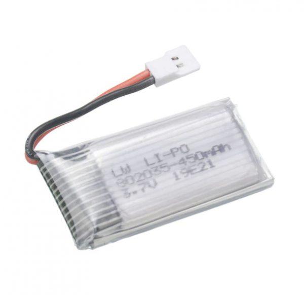 Batterie 3.7V 450mAh pour Hubsan H107 JJRC H31 H6C Eachine E33 E33C Wltoys U816A V252 KY101
