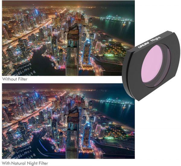 Filtre Objectif Camera URUAV NUIT pour Hubsan ZINO H117S ZINO PRO 2