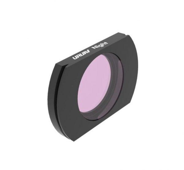 Filtre Objectif Camera URUAV NUIT pour Hubsan ZINO H117S ZINO PRO