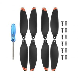 4 Propellers 4726 for DJI Mavic Mini 2 BLACK ORANGE