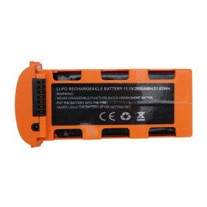 Batteria Li Po 11,1 V 2850 mAh per JJRC X17 ARANCIONE