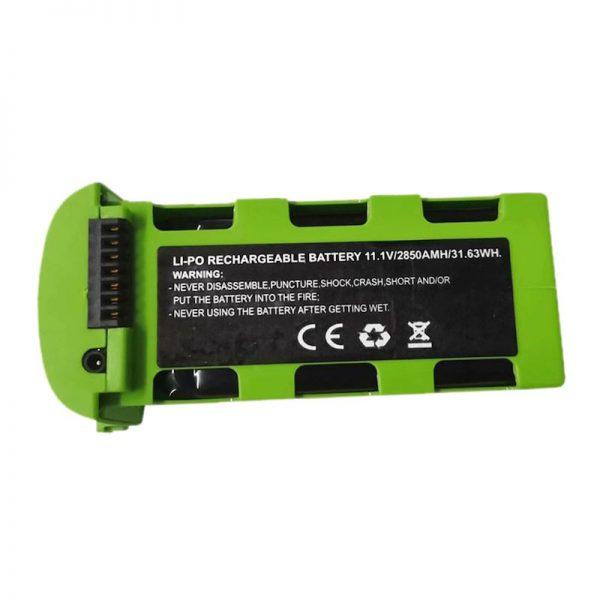 Batterie Li Po 11.1V 2850mAh pour JJRC X17 VERT