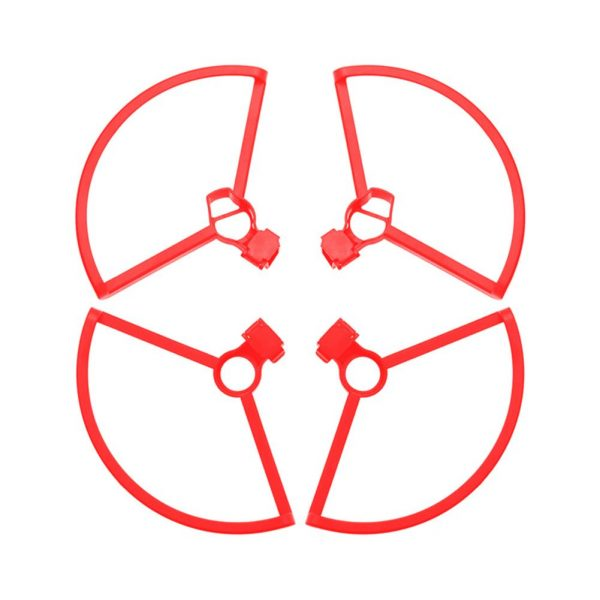 dji mavic mini 2 cadre protection helices rouge