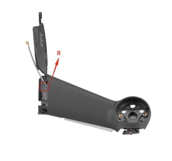 Braccio posteriore destro per DJI FPV Combo