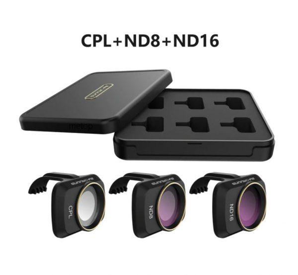 Ensemble Filtres Lentille Objectif Caméra CPL ND8 ND16 pour DJI Mavic Mini 2