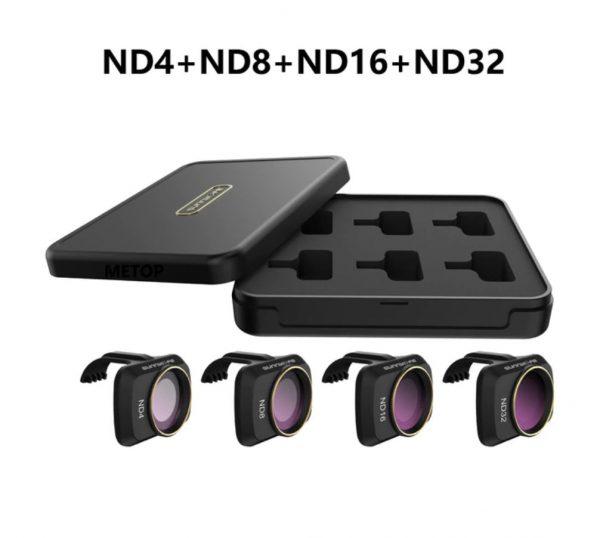 Ensemble Filtres Lentille Objectif Caméra ND4 ND8 ND16 ND32 pour DJI Mavic Mini 2