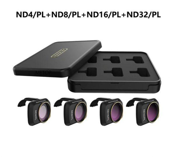 Ensemble Filtres Lentille Objectif Caméra ND4PL ND8PL ND16PL ND32PL pour DJI Mavic Mini 2