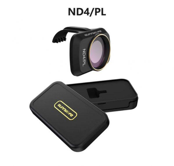 Filtre Lentille Objectif Caméra ND4PL pour DJI Mavic Mini 2