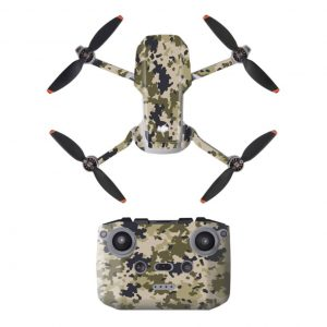 Kit Autocollants Stickers Protecteurs Drone Télécommande Waterproof en PVC pour Mavic Mini 2 CAMOUFLAGE DESERT