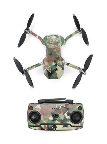 Kit adesivi protettivi per droni con telecomando in PVC impermeabile per Mavic Mini 3D CAMOUFLAGE