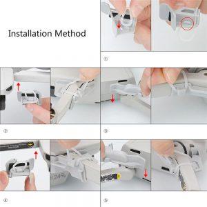 Kit di protezione del rinforzo del braccio del motore per DJI Mavic Mini 4