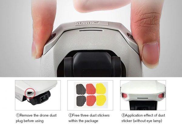 Luce anteriore del flash per DJI Mavic Mini Mini 2 E