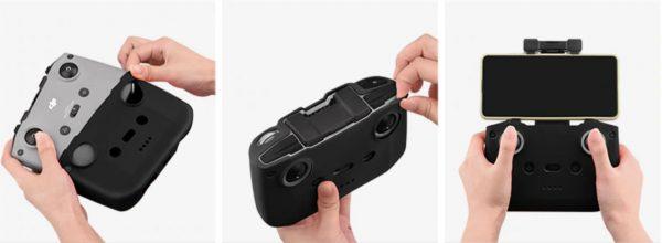 Protezione in silicone antigraffio per DJI Mavic Air 2 Mini 2 Telecomando IMG2