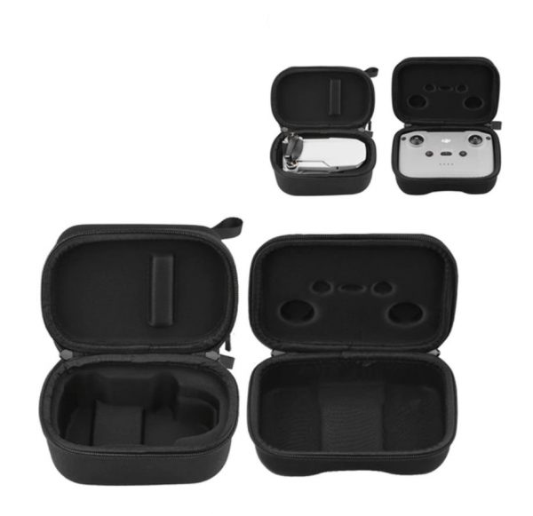 2 Etuis de Rangement Drone Telecommande en Nylon pour DJI Mavic Mini 2