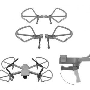 4 telai protettivi per eliche con piedini pieghevoli per carrello di atterraggio per DJI Mavic Air 2