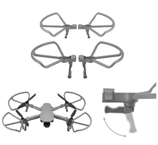 4 Propellerschutzrahmen mit klappbaren Fahrwerksfüßen für DJI Mavic Air 2