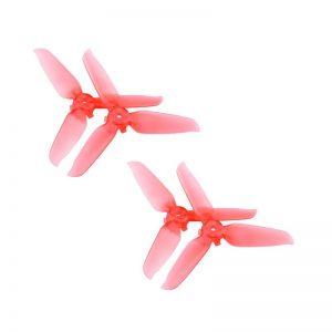 4 Eliche trasparenti 5328S Montaggio rapido per DJI FPV Combo RED IMG1