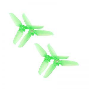 4 Eliche Trasparenti 5328S Montaggio Rapido per DJI FPV Combo GREEN IMG1
