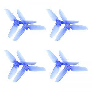8 Eliche trasparenti 5328S Montaggio rapido per DJI FPV Combo BLUE IMG1