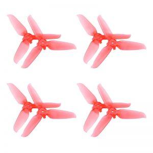 8 Eliche trasparenti 5328S Montaggio rapido per DJI FPV Combo RED IMG1