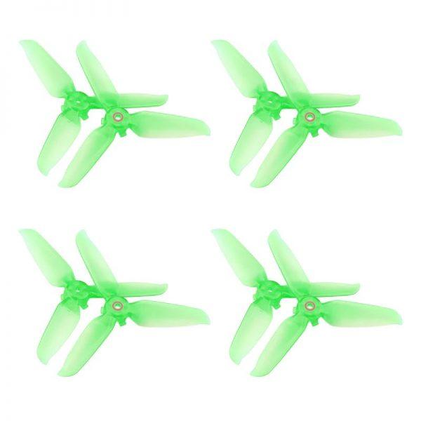 8 Eliche trasparenti 5328S Montaggio rapido per DJI FPV Combo GREEN IMG1