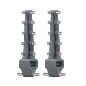 Amplificatori Booster Segnale Antenna per Telecomando DJI Mavic 2 Air Spark Mini Phantom serie Fimi X8 SE Autel EVO GRIGIO ALLUMINIO