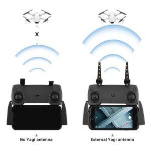 Amplificatori Booster Signal Antenna per telecomando DJI Mavic 2 Air Spark Mini Phantom serie Fimi X8 SE Autel EVO IMG2