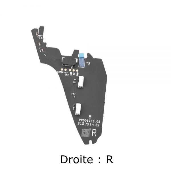Scheda antenna per piede destro anteriore per DJI FPV Combo