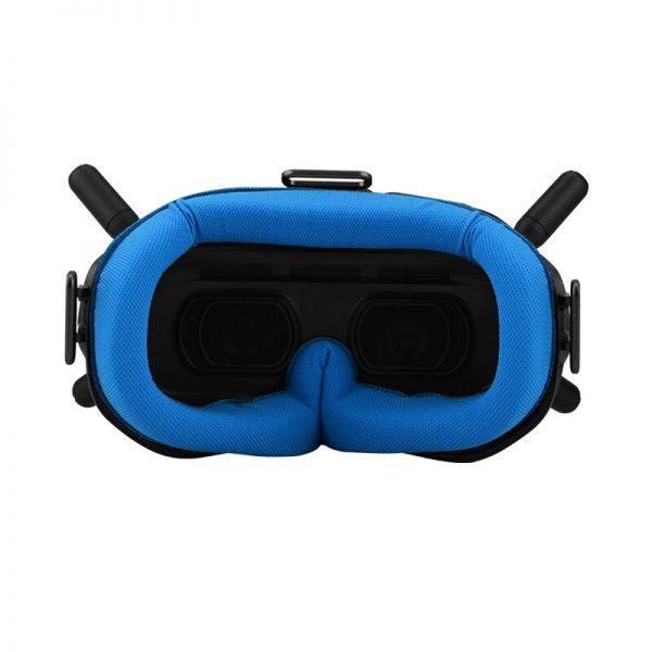 Coussin Facial de Remplacement pour Lunettes DJI FPV Combo Goggles V2 BLEU IMG2